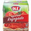 Molho de tomate refogado /Ole 260g