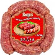 Linguica fresca Na Brasa / Bragas 1,800g