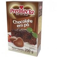 Chocolate em po / Predilecta 200g
