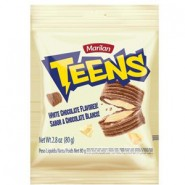 Teens biscoito chocolate branco / Marilan 80g
