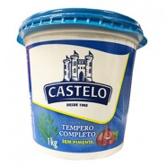Tempero Castelo  Completo s/Pimenta  (1kg)