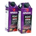 Amazoo / Suco de Acai c/Morango (2 x 750ml)