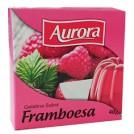 Gelatina em Po Aurora/ Sabor Framboesa (40g)