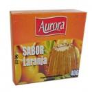Gelatina em Po Aurora / Sabor Laranja (40g)