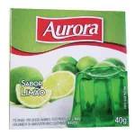 Gelatina em Po Aurora / Sabor Limao (40g)