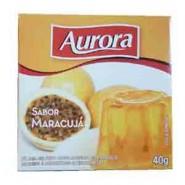 Gelatina em Po Aurora / Sabor Maracuja (40g)