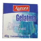 Gelatina em Po Aurora / Sabor Tutti-Frutti (40g)