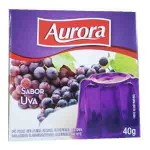 Gelatina em Po Aurora / Sabor Uva (40g)