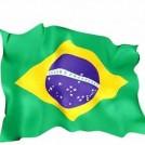 Bandeira do Brasil em Tecido (60cm x 90cm)