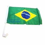 Bandeira do Brasil p/Carro (47cm x 30cm)