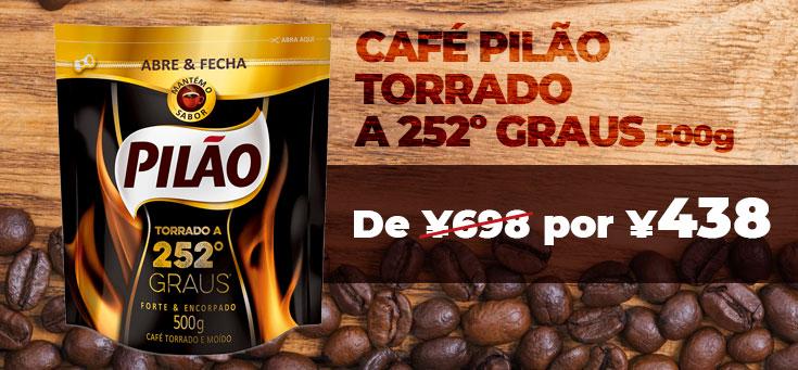 Café Pilão 252 Graus