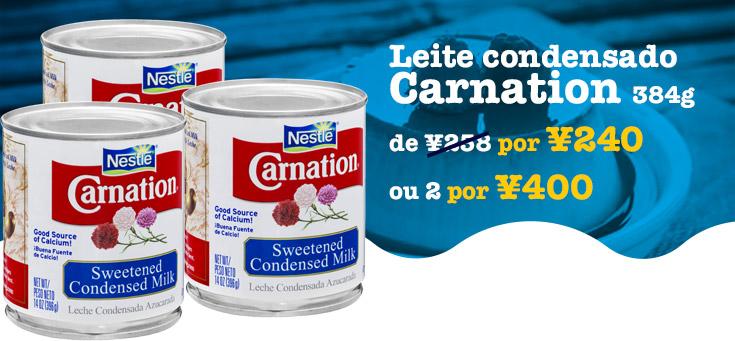 Leite condensado Carnation
