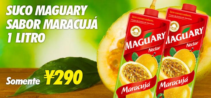 Suco Maguary Maracujá
