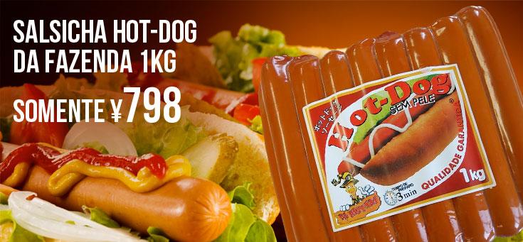 Salsicha hot-dog Da Fazenda