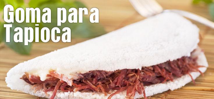 Goma para Tapioca