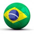 Bola de Futebol / Time Brasil (Unitario)