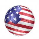 Bola de Futebol  / Time Estados Unidos (Unitario)