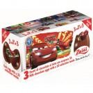 Cars Ovo Surpresa chocolate ao Leite (3Ovos)