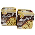 Panettone c/Gotas Chocolate Casa do Pao (2 x 500g)