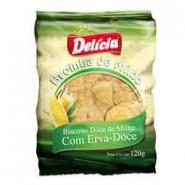 Broinha de Milho (com Erva Doce) Delicia (120g)
