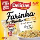 Farinha de Mandioca Torrada/Delicias Brasil (500g)