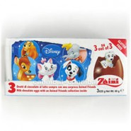 Ovos de Chocolate com Surpresa (3un) Disney