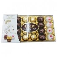 Ferrero Collection (24un) Raffaello/Rocher/ Rondnoir (8de cada) Japan Limited Edition