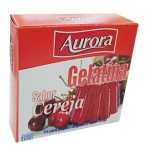 Gelatina em Po Aurora / Cereja (40g)