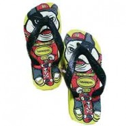 Chinelos Havaianas / Kids Skate Neon Yellow N. 25 / 26