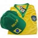 Camiseta (Adulto)  Brazil + Bone