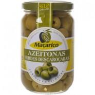 Azeitona Verde s/Caroco Macarico (210g)