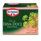 Cha Dr Oetker / Erva Doce (10g) - 10 Saches