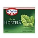 Cha Dr Oetker / Hortela (10 Saches)