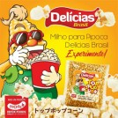 Milho de Pipoca Delicias Brasil (500g)