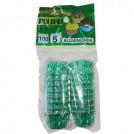 Forminhas Aluminizada Polipel N.5/ Cor Verde (100un)