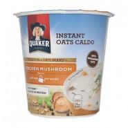 Quaker Instant Oats Caldo (Caldo Instantaneo)Chicken Mushroom (Frango c/Cogumelo) 28g