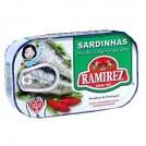 Sardinha em Oleo Vegetal  Ramirez (87g)