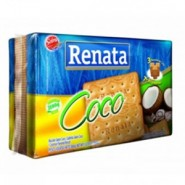 Biscoito Renata / Sabor Coco (360g)