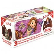 Ovos de Chocolate com Surpresa (3un) Princesa Sofia