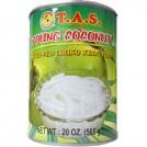 TAS Nata Coco Tiras (Young Coconut in syrup) (565g)