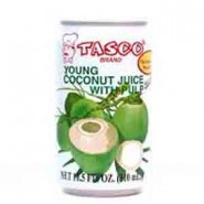 Agua de Coco (Young Coconut Juice) Tasco (310ml)